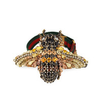 Gucci Crystal bee bracelet