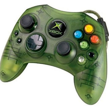Official Original Microsoft Xbox Green Controller S Type Wired Gamepad