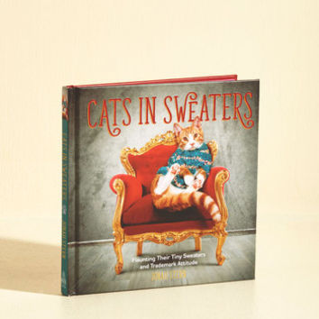 Cats in Sweaters | Mod Retro Vintage Books | ModCloth.com