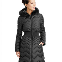 40% Off All Coats | 40% Off All Coats | Zig Zag Down Coat | Lord and Taylor