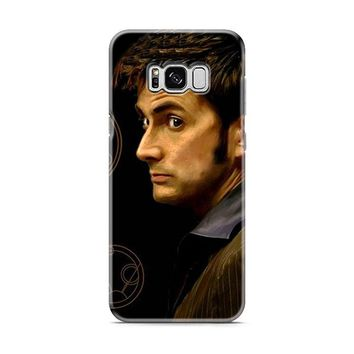 Tenth Doctor With Gallifreyan Samsung Galaxy S8 | Galaxy S8 Plus Case
