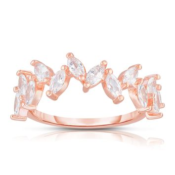 Selina Marquise Cluster Ring