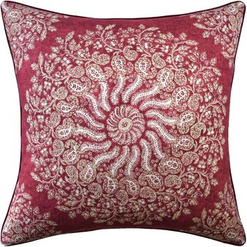 La Provence Red Pillow by Ryan Studio