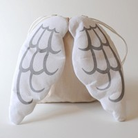 Dress Up Angel Drawstring Backpack on Luulla