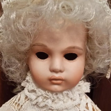 Vintage The Heirloom Collection of Louis XVII by Louis Nichole by World Doll Inc Great Creepy Decor