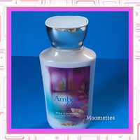 Bath Body Works Amber Blush Shea Vitamin E Lotion Signature Collection