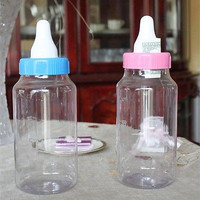 Plastic Milk Bottle Coin Back Baby Shower Favor Keepsake