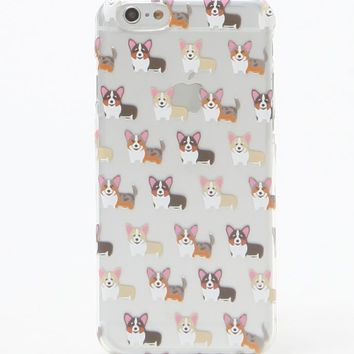 LA Hearts Corgi iPhone 6/6s Case - Womens Scarves - Multi - One