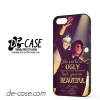 My Chemical Romance Quotes DEAL-7541 Apple Phonecase Cover For Iphone 5 / Iphone 5S