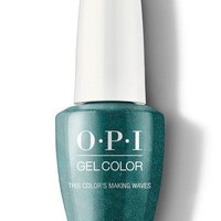 OPI GelColor - This Color's Making Waves 0.5 oz - #GCH74