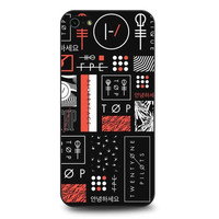 Twenty One Pilots collages Hard Plastic Back Case Cover for iPhone 4 4S 5 5S SE 5C 6 6S 6Plus 6S 7 Plus