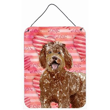 Love a Labradoodle Wall or Door Hanging Prints CK1763DS1216