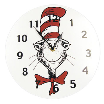 Wall Clock - Dr. Seuss Cat In The Hat