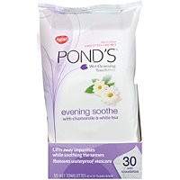 Pond's Evening Soothe Wet Cleansing Towelettes 30 Ct Ulta.com - Cosmetics, Fragrance, Salon and Beauty Gifts