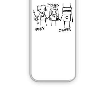Daddy - Mommy - Chappie - iPhone 5&5s Case