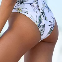 LA Hearts High Rise Bikini Bottom at PacSun.com
