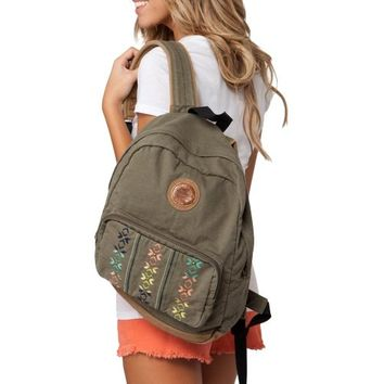 O'Neill Juniors Summit Backpack - Olive Green