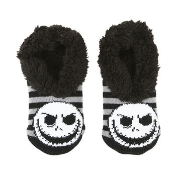 The Nightmare Before Christmas Jack Cozy Slippers