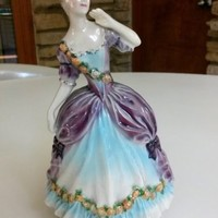 Vintage Goldscheider Figurine Declaration D'Amour Fine China