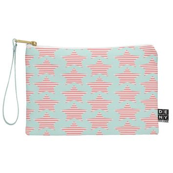 Allyson Johnson Stripes And Stars Pouch