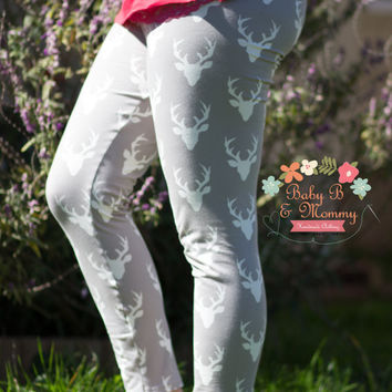 Reindeer Christmas Women Leggings