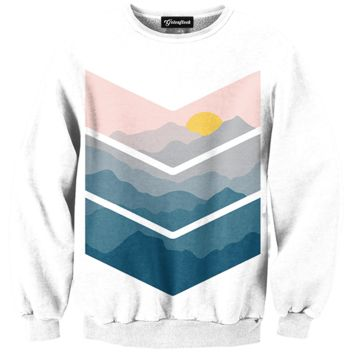 Painted View Crewneck