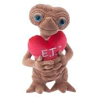 "universal studios 18"" E.T. extra terrestrial with heart love plush toy new with tags"