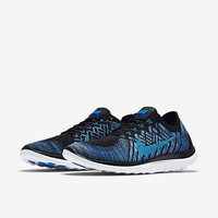 The Nike Free 4.0 Flyknit Men's Running Shoe.