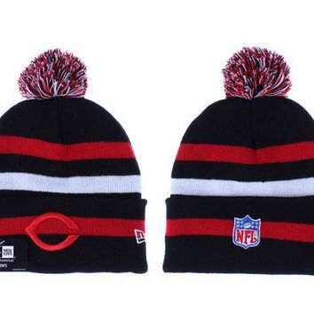 ESBON Chicago Bears Beanies New Era NFL Football Cap