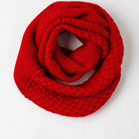 Folk Art Chill Out on the Town Scarf in Red by ModCloth
