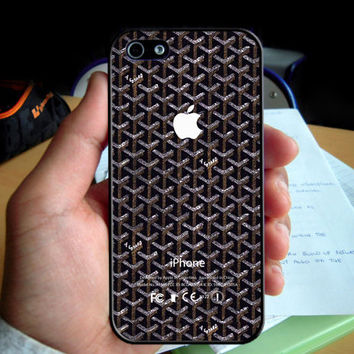 Goyard Paris Pattern Honore iPhone Logo phone case for Iphone 4 4S 5 5S 6 6plus