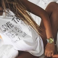 Love Animals Muscle Tee