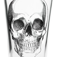 SOURPUSS EXCLUSIVE ANATOMICAL SKULL PINT GLASS - Sourpuss Clothing