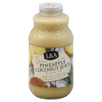 L & A Juice Pineapple/Coconut (6x32OZ )