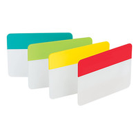 Post it Durable Tabs 2 Assorted Colors Pad Of 24 Flags by Office Depot & OfficeMax