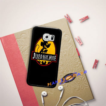Mickey Mouse Jurassic Mice Samsung Galaxy S6 Edge Case Planetscase.com