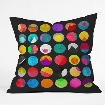 Elisabeth Fredriksson Dots 2 Throw Pillow