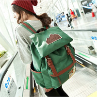 Korean Backpack Vintage Casual Travel Bags [8384617095]