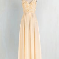 Long Spaghetti Straps Maxi All Roads Lead to Romance Dress