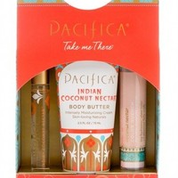 Pacifica Take Me There Set - Indian Coconut Nectar with Lip Quench