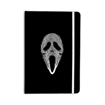 "BarmalisiRTB ""The Scream Tree"" Black White Everything Notebook"