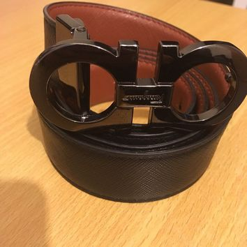 Salvatore Ferragamo Belt Black/Brown