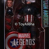 Marvel Legends 12 Inch Captain America Action Figure Hasbro USA FREE SHIPPING