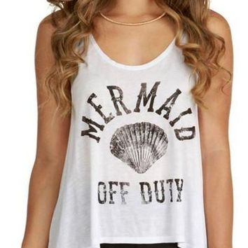 Mermaid Off Duty Tank FINAL SALE!