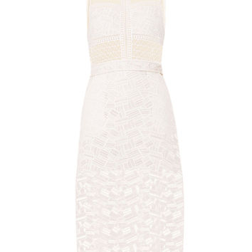 Veronica Beard Grace Sleeveless A-Line Dress