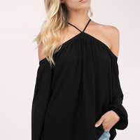 Vihan Cold Shoulder Blouse