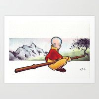 The Last Airbender Art Print by Warbunny