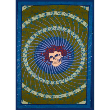 Grateful Dead - Bertha Skull And Roses Tapestry