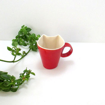 ceramic cup,tea cup,christmas gift,coffee cup,pottery cup,cup,ceramic mug,handmade cup,coffee mug,pottery,ceramic cup,cat cup,cat mug,red