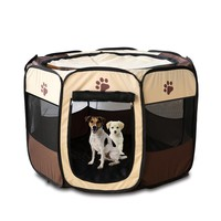 Pet Dog Cat Playpen Fence Cage Crate Arena for dogs Indoor & Outdoor Use